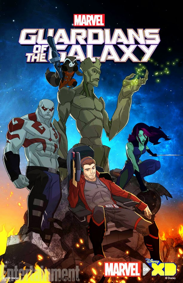 Guardians of the Galaxy animated show